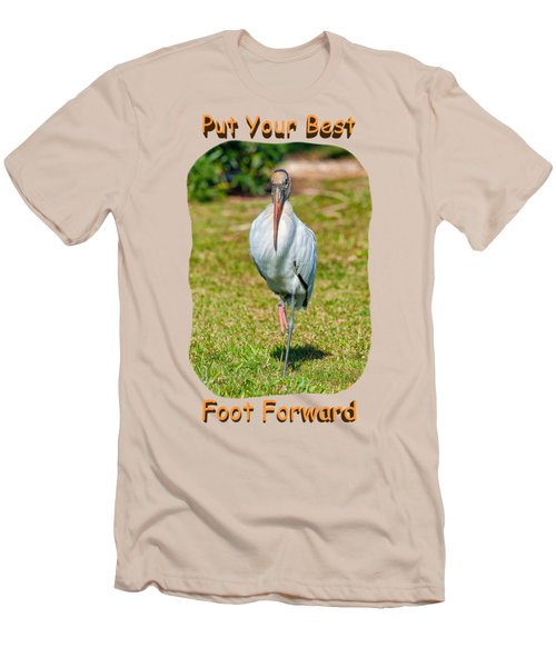 Best Foot Forward Men's T-Shirt (Slim Fit) by John M Bailey