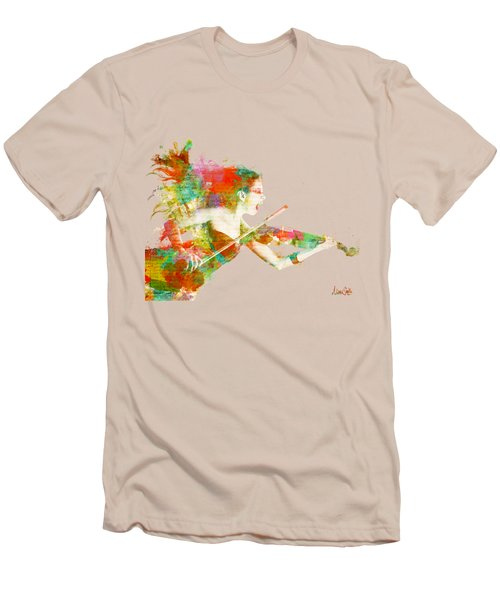Can You Hear Me Now Men's T-Shirt (Slim Fit) by Nikki Smith