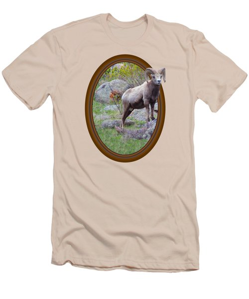 Colorado Bighorn Men's T-Shirt (Slim Fit) by Shane Bechler