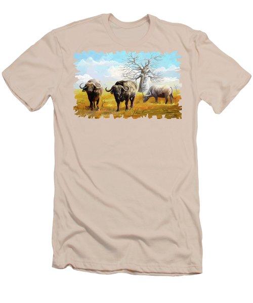 Confidence Men's T-Shirt (Slim Fit) by Anthony Mwangi
