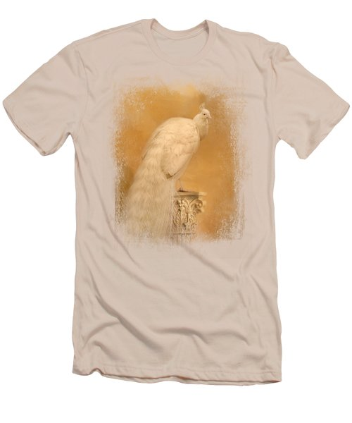 Elegance In Gold Men's T-Shirt (Slim Fit) by Jai Johnson