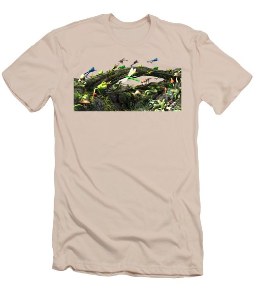 Frog Glen Men's T-Shirt (Slim Fit) by Methune Hively