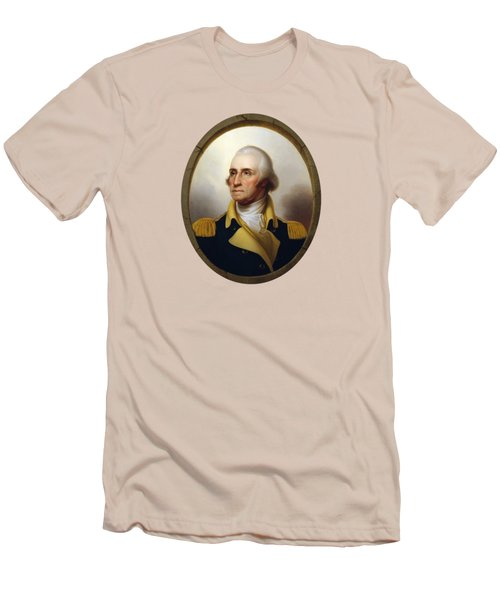General Washington Men's T-Shirt (Slim Fit) by War Is Hell Store
