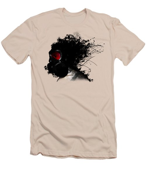 Ghost Warrior Men's T-Shirt (Slim Fit) by Nicklas Gustafsson