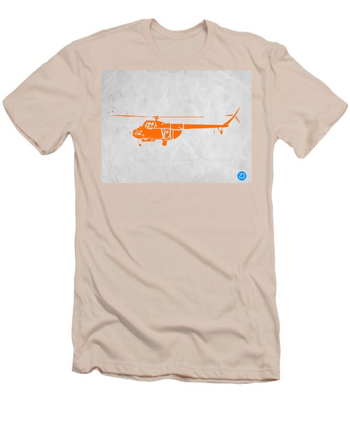 Helicopter Men's T-Shirt (Slim Fit) by Naxart Studio