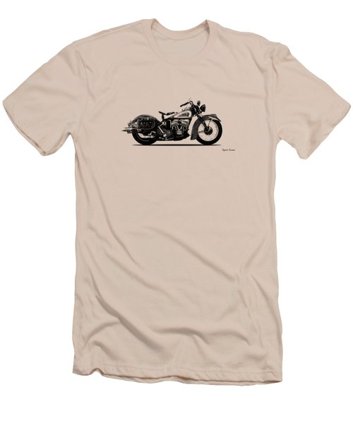 Indian Sport Scout 1939  Men's T-Shirt (Slim Fit) by Mark Rogan