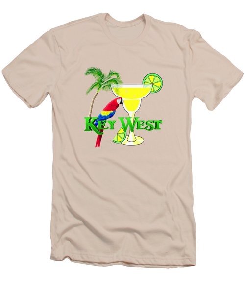 Key West Margarita Men's T-Shirt (Slim Fit) by Chris MacDonald