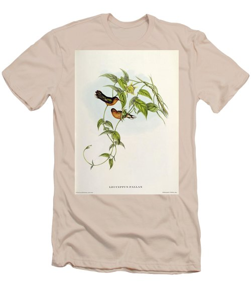 Leucippus Fallax Men's T-Shirt (Slim Fit) by John Gould