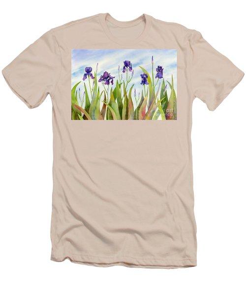 Listening To Divas Men's T-Shirt (Slim Fit) by Amy Kirkpatrick
