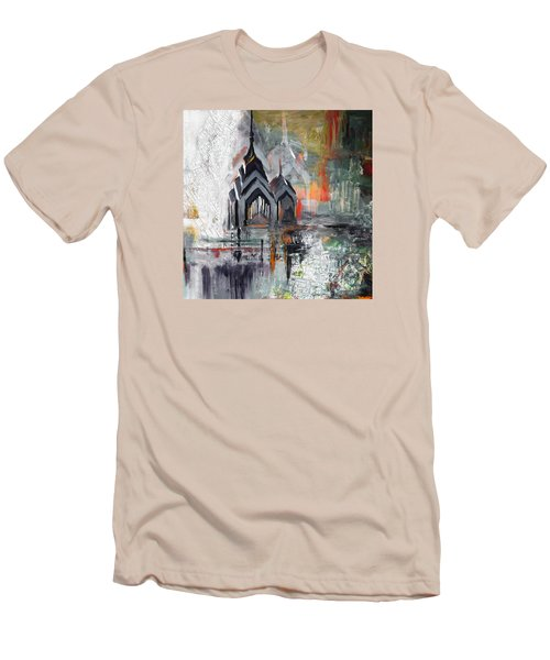 One Liberty Place And Two Liberty Place 229 3 Men's T-Shirt (Slim Fit) by Mawra Tahreem