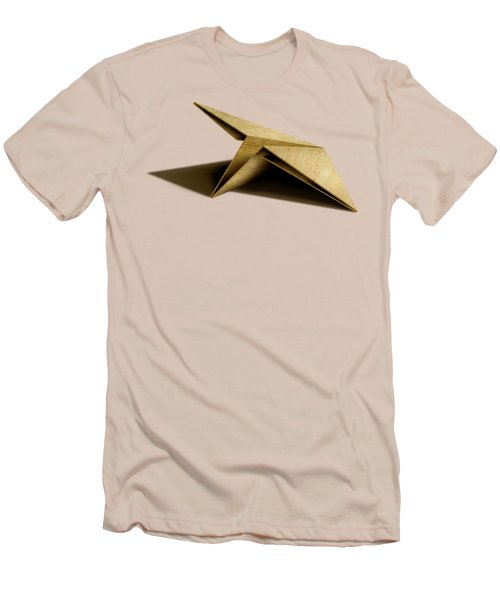 Paper Airplanes Of Wood 7 Men's T-Shirt (Slim Fit) by YoPedro