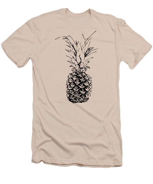 Pineapple Men's T-Shirt (Slim Fit) by Daniel Precht