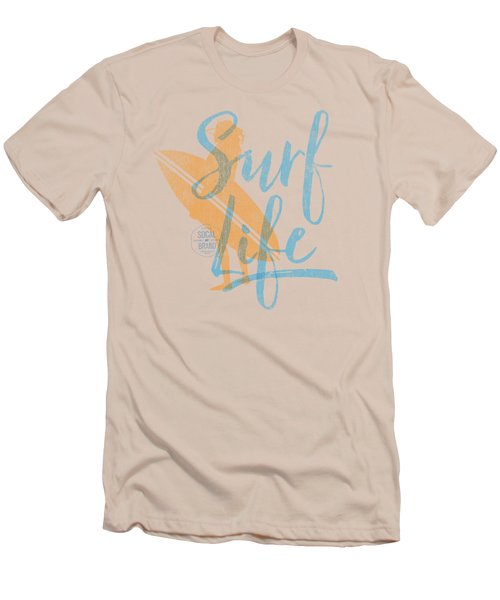 Surf Life 2 Men's T-Shirt (Slim Fit) by SoCal Brand