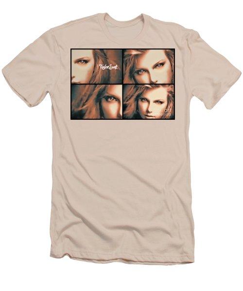 Taylor Swift - Parallels Men's T-Shirt (Slim Fit) by Robert Radmore