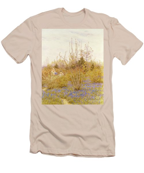 The Cuckoo Men's T-Shirt (Slim Fit) by Helen Allingham