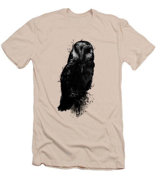The Owl Men's T-Shirt (Slim Fit) by Nicklas Gustafsson