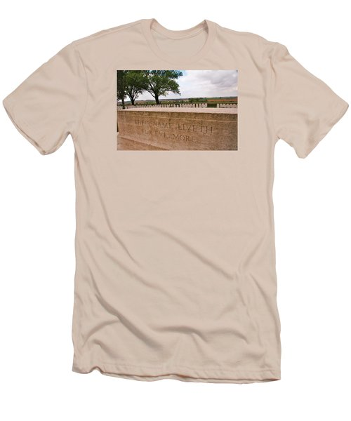 Men's T-Shirt (Slim Fit) featuring the photograph Their Name Liveth For Evermore by Travel Pics