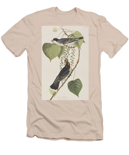 Tyrant Fly Catcher Men's T-Shirt (Slim Fit) by John James Audubon