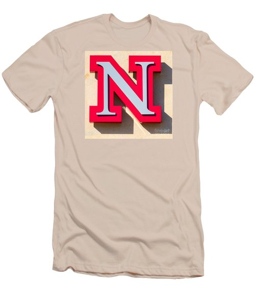 UNL Men's T-Shirt (Slim Fit) by Jerry Fornarotto