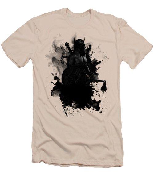 Viking Men's T-Shirt (Slim Fit) by Nicklas Gustafsson