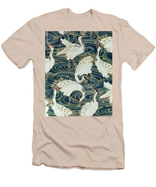 Vintage Wallpaper Design Men's T-Shirt (Slim Fit) by English School