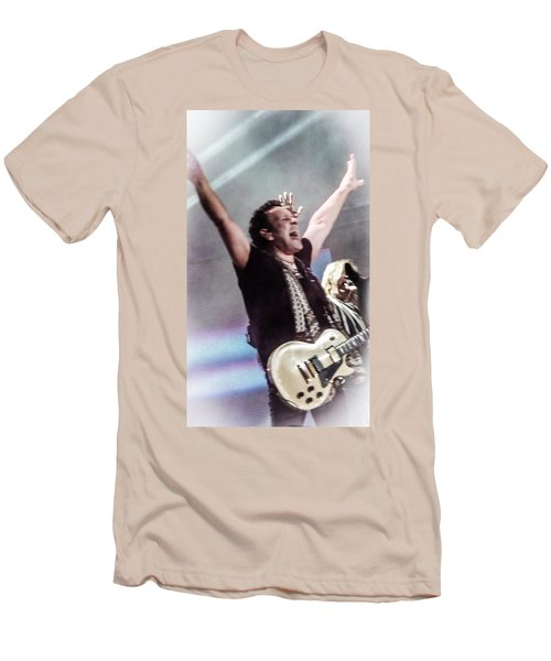 Vivian Campbell - Campbell Tough Men's T-Shirt (Slim Fit) by Luisa Gatti