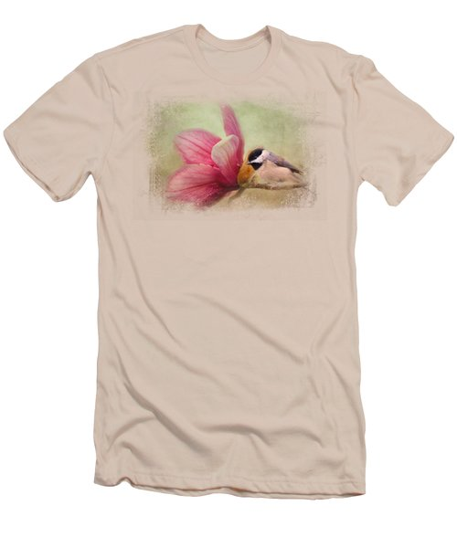 Welcome Spring Men's T-Shirt (Slim Fit) by Jai Johnson
