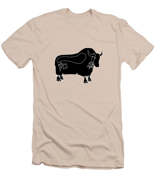 Yak Men's T-Shirt (Slim Fit) by Frederick Holiday