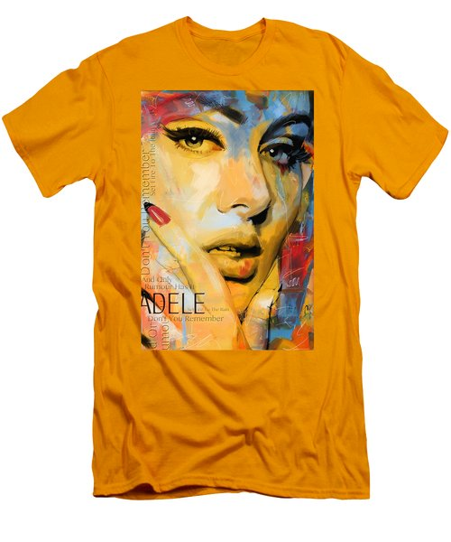 Adele Men's T-Shirt (Slim Fit) by Corporate Art Task Force