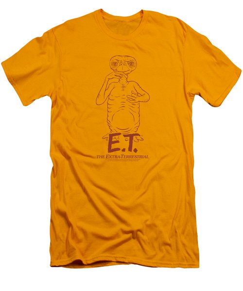 Et - Alien Swag Men's T-Shirt (Slim Fit) by Brand A