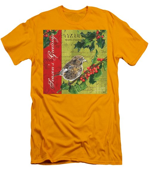 Peace On Earth 1 Men's T-Shirt (Slim Fit) by Debbie DeWitt