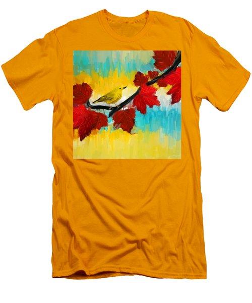 Vividness Men's T-Shirt (Slim Fit) by Lourry Legarde