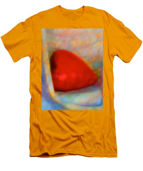 Men's T-Shirt (Slim Fit) featuring the digital art Abundant Love by Richard Laeton