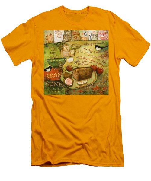 Irish Brown Bread Men's T-Shirt (Slim Fit) by Jen Norton