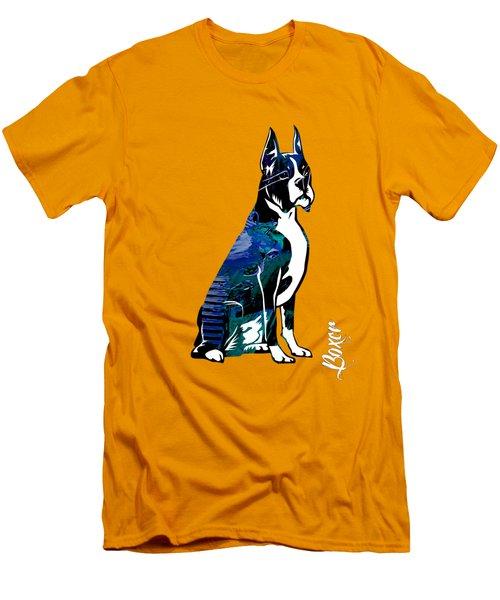Boxer Collection Men's T-Shirt (Slim Fit) by Marvin Blaine