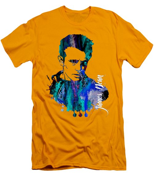 James Dean Collection Men's T-Shirt (Slim Fit) by Marvin Blaine