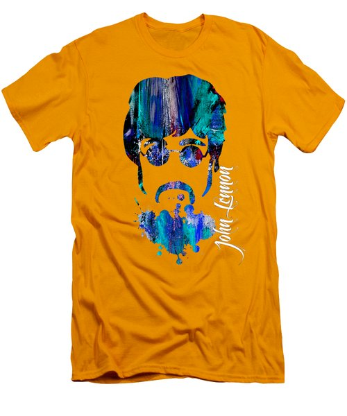John Lennon Collection Men's T-Shirt (Slim Fit) by Marvin Blaine