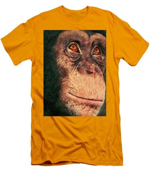 Chimp Men's T-Shirt (Slim Fit) by Jack Zulli