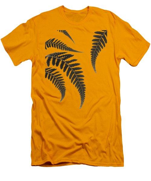 Fern Leaves Men's T-Shirt (Slim Fit) by Mark Rogan