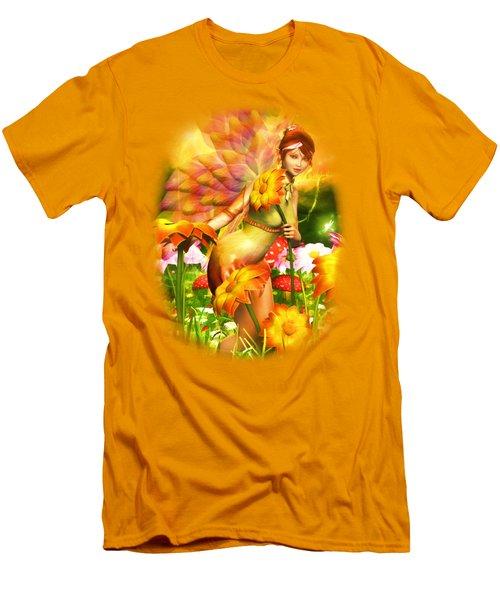Golden Adornments Men's T-Shirt (Slim Fit) by Brandy Thomas