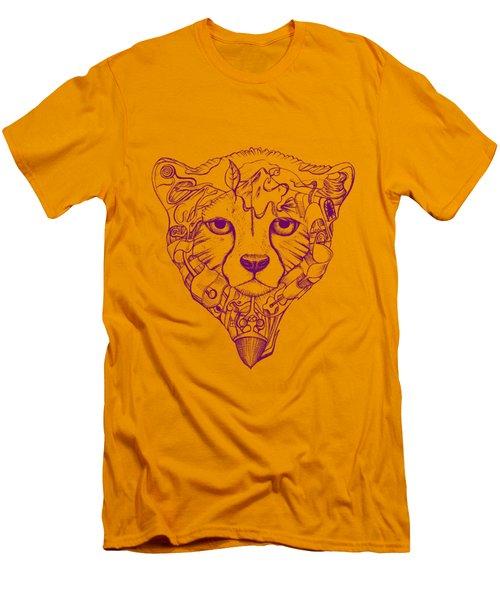 Iranian Cheetah Men's T-Shirt (Slim Fit) by Adam Campbell
