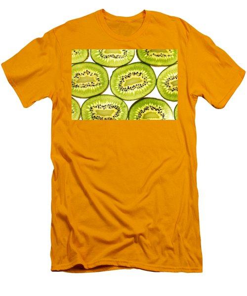 Kiwi Fruit II Men's T-Shirt (Slim Fit) by Paul Ge