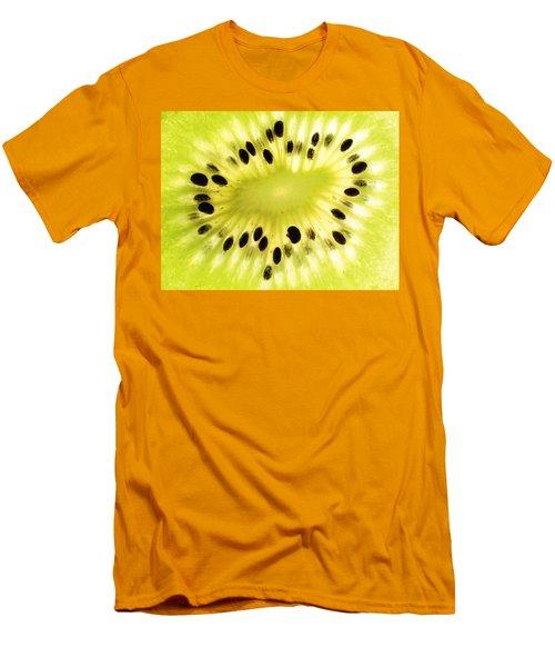 Kiwi Fruit Men's T-Shirt (Slim Fit) by Paul Ge