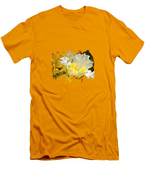 Morning Iris Men's T-Shirt (Slim Fit) by Thom Zehrfeld