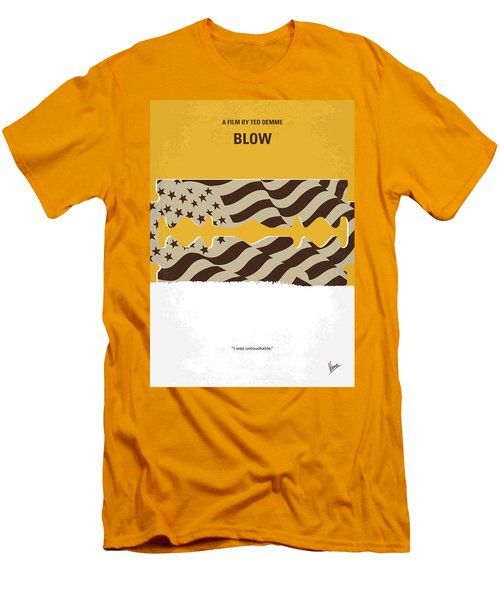 No693 My Blow Minimal Movie Poster Men's T-Shirt (Slim Fit) by Chungkong Art