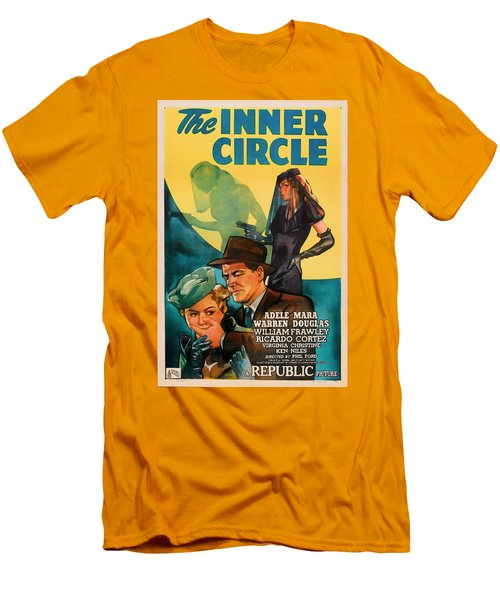 The Inner Circle 1946 Men's T-Shirt (Slim Fit) by Mountain Dreams