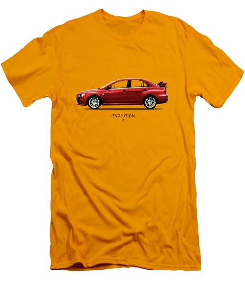The Lancer Evolution X Men's T-Shirt (Slim Fit) by Mark Rogan