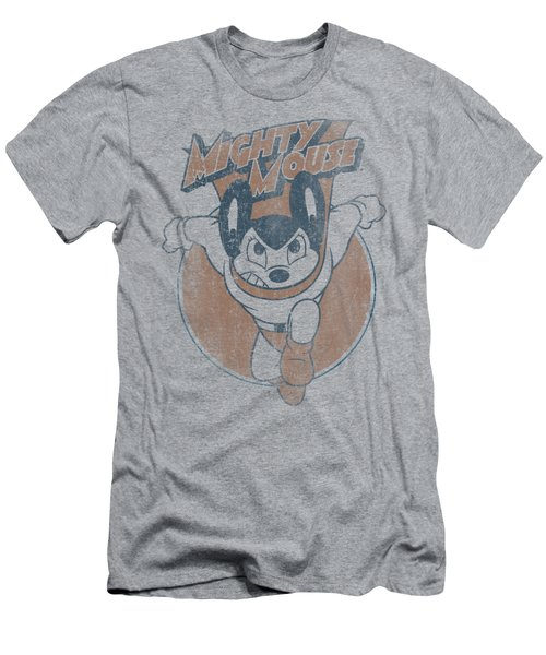 Mighty Mouse - Flying With Purpose Men's T-Shirt (Slim Fit) by Brand A