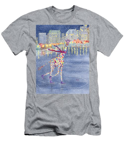 Annabelle On Ice Men's T-Shirt (Slim Fit) by Rhonda Leonard