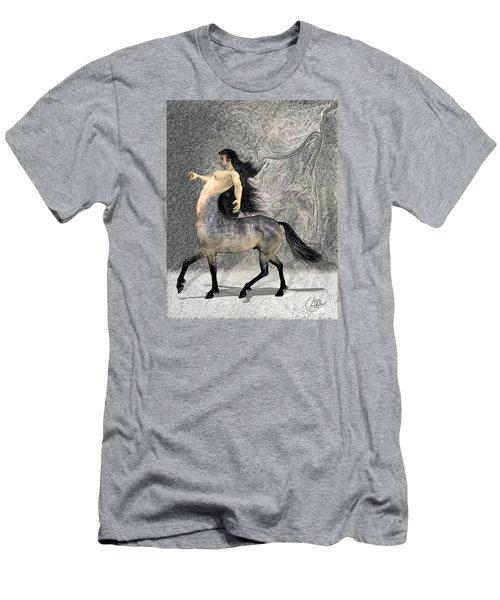 Centaur Men's T-Shirt (Slim Fit) by Quim Abella